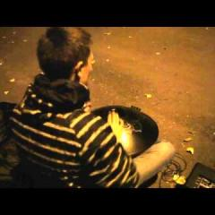 GUDA FX DRUM, playing on the street
