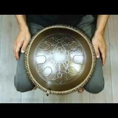 Guda Freezbee. Major (A=432Hz) scale. Sephirot design