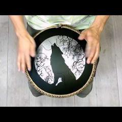 Guda Freezbee. Arcane (A=432Hz) scale. Wolf custom design