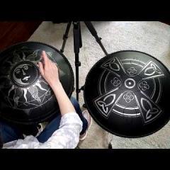 Janis Wilson Hughes. 60 Second Zen Guda Drum Challenge 2020