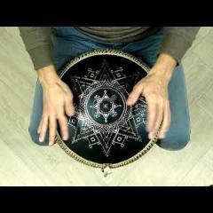 Guda Coin Brass overtone tongue pan. Pygmy/Mystic scale
