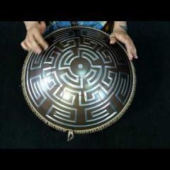 """Neo 9 Fx. """"Zen Trance"""" scale. Aztec design (acoustic sound)"""