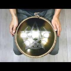 Guda Freezbee. Zen Trance (A=432Hz) scale. Wiccan design