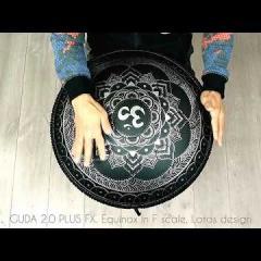 Guda Double Fx. Equinox in F/Zen Trance in F scale