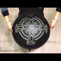 Guda Double. Celtic minor in D/Custom scale.