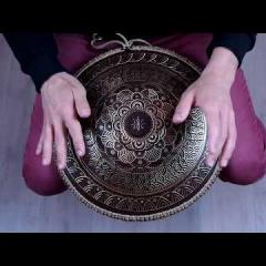 Guda coin Brass. Kurd\ Mystic scale