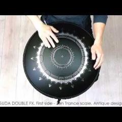 Guda Double Fx. Zen Trance/Gypsy minor scale