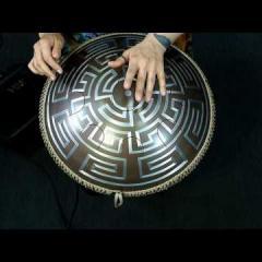 "Neo 9 Fx. ""Zen Trance"" scale. Aztec design"