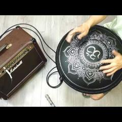 Guda Double Fx. Zen Trance/Gypsy minor scale