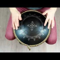 Guda Freezbee. Zen Trance scale. Carpathian design