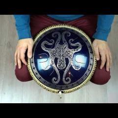 Guda Freezbee. African scale. Custom design