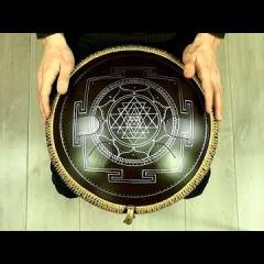 "Guda Freezbee. ""Akebono"" scale. ""Sri Yantra"" design. (in the frequency of A=432Hz)"