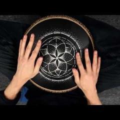 Guda Lessons. Practicing on rhythm: 7/4. Part 3