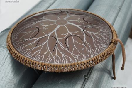 """Freezbee drum, """"Tree design"""" photo 5"""