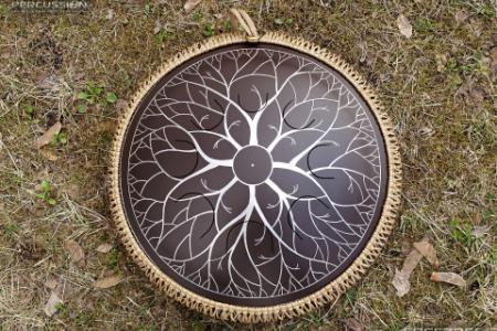 """Freezbee drum, """"Tree design"""" photo 4"""